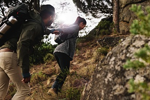 couple hiking as one of the top proposal ideas