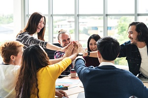 workers happy because of improved company culture