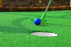 mini golf which is considered one of the top family activities in Northern Virginia