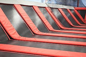 one of the best family activities in Northern Virginia which is an indoor trampoline park
