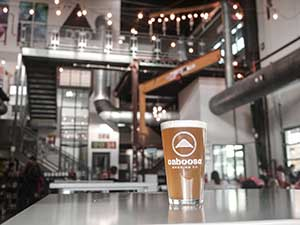 Caboose Brewing fun things to do in Northern Virginia at night