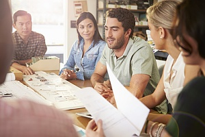 a growing business with team building workshops
